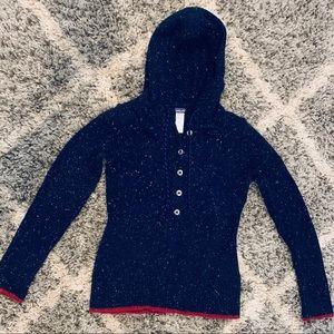 Patagonia Wool Hooded Sweater - women's medium